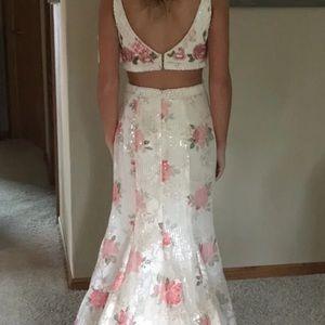 00 splash prom dress